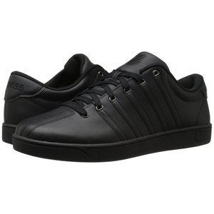 ケースイス K-Swiss メンズ スニーカー シューズ・靴 Court Pro II CMF Black/Gunmetal Leather|fermart-shoes