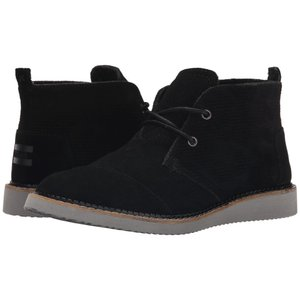 トムズ メンズ ブーツ シューズ・靴 Mateo Chukka Boot Black|fermart-shoes