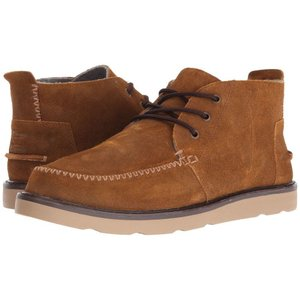 トムズ メンズ ブーツ シューズ・靴 Chukka Boot Chestnut Oiled Suede|fermart-shoes