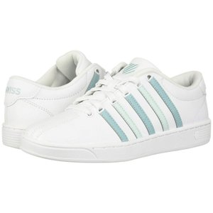 ケースイス K-Swiss レディース シューズ・靴 テニス Court Pro II CMF White/Aqua Haze/Soothing Sea|fermart-shoes