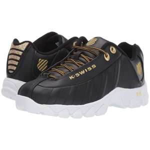 ケースイス K-Swiss レディース スニーカー シューズ・靴 ST329 CMF Black/Gold fermart-shoes