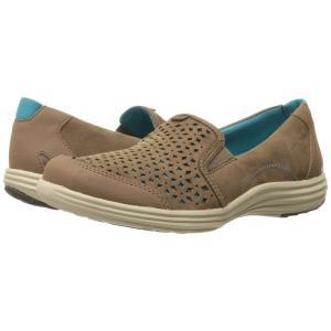 アラヴォン Aravon レディース ローファー・オックスフォード シューズ・靴 Bonnie-AR Brown|fermart-shoes