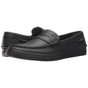 コールハーン メンズ ローファー シューズ・靴 Nantucket Loafer Black Leather fermart-shoes