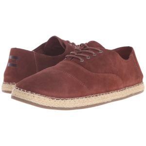 トムズ メンズ スニーカー シューズ・靴 Camino Lace-Up Chestnut Brown Suede|fermart-shoes