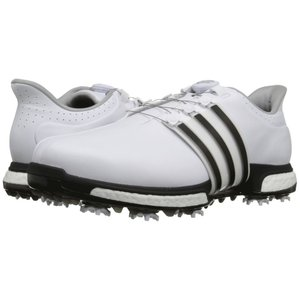 アディダス メンズ シューズ・靴 ゴルフ Tour360 Boa Ftwr White/Core Black/Dark Silver Metallic|fermart-shoes