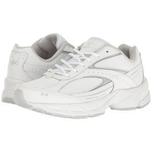 ライカ レディース スニーカー シューズ・靴 Comfort Walk White/Grey/Silver|fermart-shoes