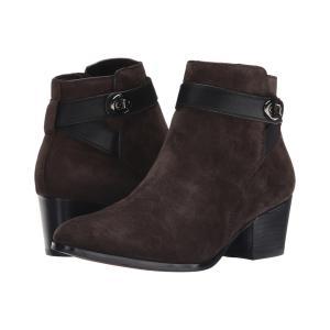 コーチ レディース ブーツ シューズ・靴 Patricia Chestnut/Black|fermart-shoes
