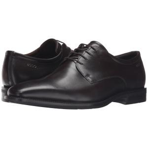 エコー ECCO メンズ 革靴・ビジネスシューズ シューズ・靴 Faro Plain Toe Tie Coffee|fermart-shoes