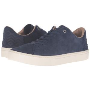 トムズ メンズ スニーカー シューズ・靴 Lenox Navy Suede|fermart-shoes