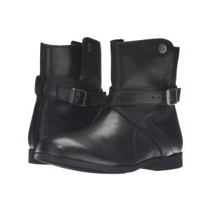 ビルケンシュトック レディース ブーツ シューズ・靴 Collins Black Leather|fermart-shoes