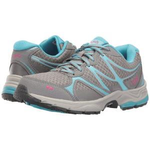 ライカ Ryka レディース スニーカー シューズ・靴 Revive RZX Forst Grey/Nirvana Blue/Ryka Pink|fermart-shoes