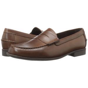 コールハーン メンズ ローファー シューズ・靴 Dustin Penny II Dark Brown fermart-shoes