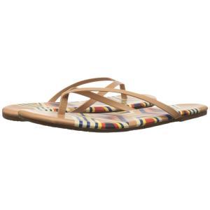 ティキーズ レディース ビーチサンダル シューズ・靴 Nail Art Jaya|fermart-shoes