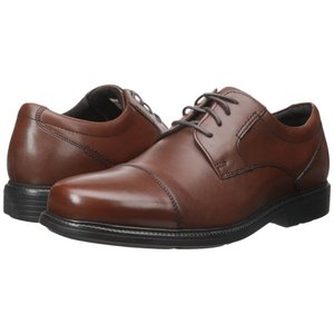 ロックポート メンズ 革靴・ビジネスシューズ シューズ・靴 Charles Road Cap Toe Oxford Tan II Leather fermart-shoes