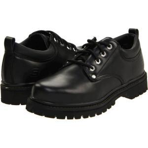 スケッチャーズ SKECHERS メンズ 革靴・ビジネスシューズ シューズ・靴 Alley Cats Black Oily Leather fermart-shoes