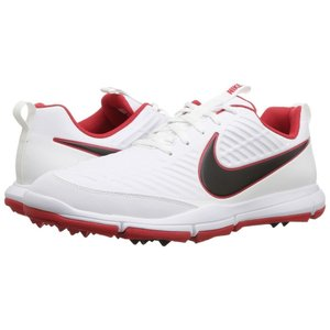 ナイキ Nike Golf メンズ シューズ・靴 ゴルフ Explorer 2 White/Black/University Red|fermart-shoes