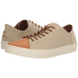 トムズ メンズ スニーカー シューズ・靴 Lenox Sneaker Desert Taupe Washed Canvas/Leather|fermart-shoes