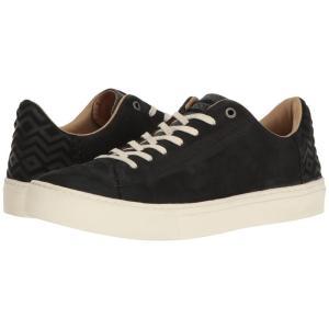 トムズ メンズ スニーカー シューズ・靴 Lenox Sneaker Black Nubuck|fermart-shoes