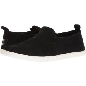 トムズ メンズ スニーカー シューズ・靴 Deconstructed Alpargata Black Suede|fermart-shoes
