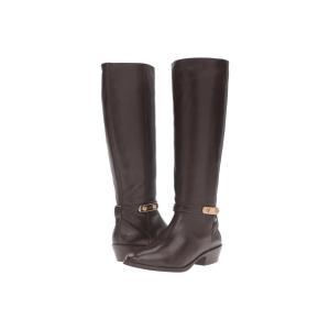 コーチ レディース ブーツ シューズ・靴 Caroline Chestnut Semi Matte Calf|fermart-shoes