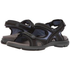 アラヴォン Aravon レディース サンダル・ミュール シューズ・靴 REVsandal Three Strap Black|fermart-shoes
