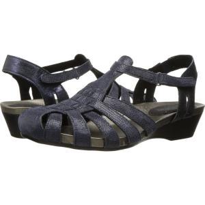 アラヴォン Aravon レディース サンダル・ミュール シューズ・靴 Standon Fisherman Blue|fermart-shoes