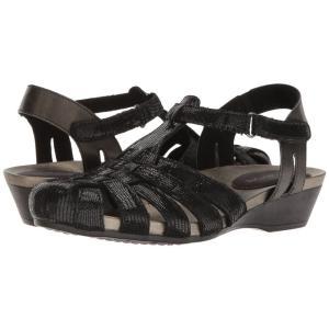 アラヴォン Aravon レディース サンダル・ミュール シューズ・靴 Standon Fisherman Black fermart-shoes