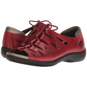 アラヴォン Aravon レディース サンダル・ミュール シューズ・靴 Bromly Ghillie Red fermart-shoes
