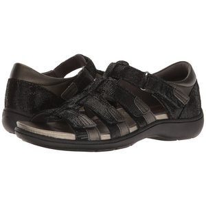 アラヴォン Aravon レディース サンダル・ミュール シューズ・靴 Bromly Gladiator Black|fermart-shoes