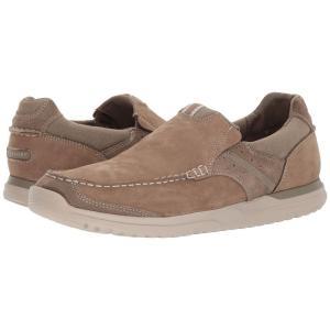 ロックポート Rockport メンズ スリッポン・フラット シューズ・靴 Langdon Slip-On Taupe Nnbuck|fermart-shoes