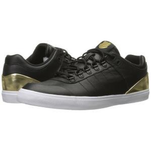 ケースイス レディース スニーカー シューズ・靴 Gstaad Neu Sleek Black/Gold/White fermart-shoes