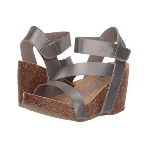 ブローフィッシュ Blowfish レディース サンダル・ミュール シューズ・靴 Hapuku Pearl Pewter Dyecut|fermart-shoes