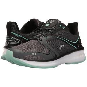 ライカ レディース スニーカー シューズ・靴 Nite Run Black/Iron Grey/Yucca Mint|fermart-shoes