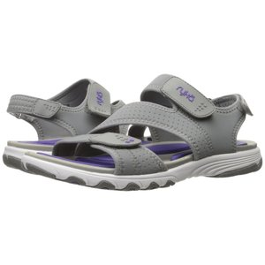 ライカ レディース サンダル・ミュール シューズ・靴 Dominica Frost Grey/Ultra Violet|fermart-shoes