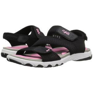 ライカ レディース サンダル・ミュール シューズ・靴 Dominica Black/Cotton Candy/Chrome Silver|fermart-shoes