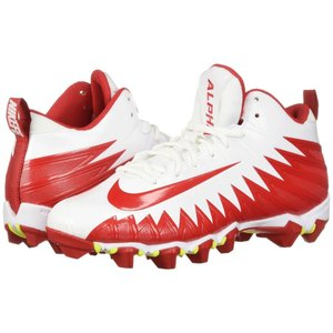 ナイキ Nike メンズ シューズ・靴 アメリカンフットボール Alpha Menace Shark White/University Red/University Red|fermart-shoes