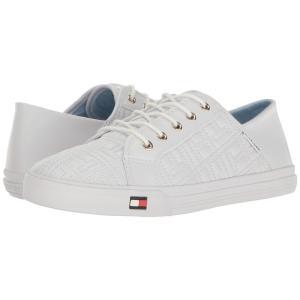 トミー ヒルフィガー Tommy Hilfiger レディース スニーカー シューズ・靴 Aleeh White fermart-shoes