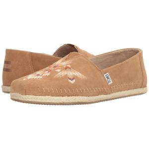 4c28897f6a92 トムス TOMS メンズ エスパドリーユ シューズ・靴 Premium Alpargata Toffee Tribal Embroidered