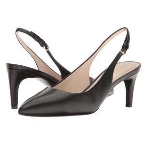 コールハーン レディース ヒール シューズ・靴 Medora Sling Black Leather|fermart-shoes