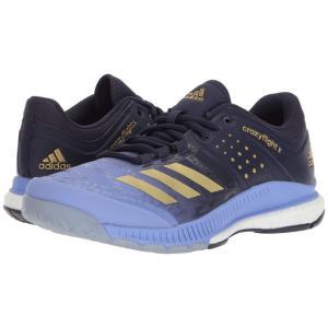 アディダス adidas レディース シューズ・靴 バレーボール Crazyflight X Chalk Purple/Gold Metallic/Noble Ink|fermart-shoes