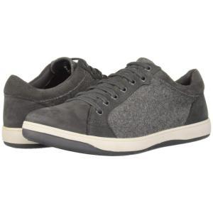 ハッシュパピー Hush Puppies メンズ スニーカー シューズ・靴 Tygo Commissioner Dark Grey Nubuck/Wool|fermart-shoes