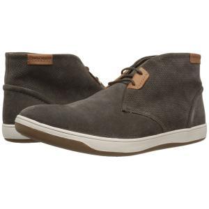 ハッシュパピー Hush Puppies メンズ スニーカー シューズ・靴 Taja Commissioner Grey Perf Suede|fermart-shoes