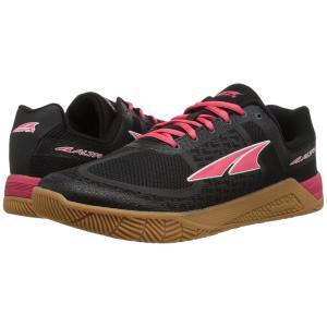 アルトラ レディース スニーカー シューズ・靴 Hiit XT Black/Red|fermart-shoes