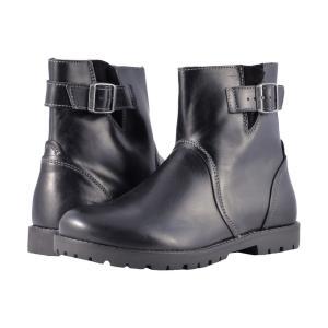 ビルケンシュトック レディース ブーツ シューズ・靴 Stowe Black Leather|fermart-shoes