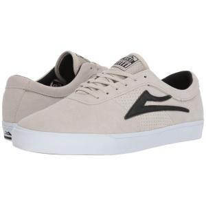 ラカイ Lakai メンズ スニーカー シューズ・靴 Sheffield White/Black Suede|fermart-shoes