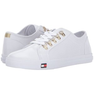 トミー ヒルフィガー レディース スニーカー シューズ・靴 Luxe White|fermart-shoes