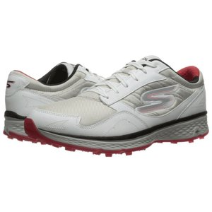 スケッチャーズ SKECHERS メンズ シューズ・靴 ゴルフ Go Golf Fairway White/Black/Red|fermart-shoes