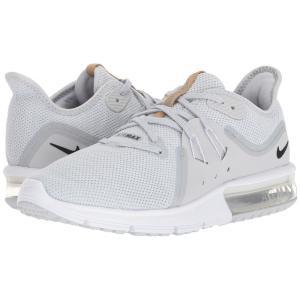 ナイキ Nike レディース スニーカー シューズ・靴 Air Max Sequent 3 Pure Platinum/Black/White 2|fermart-shoes
