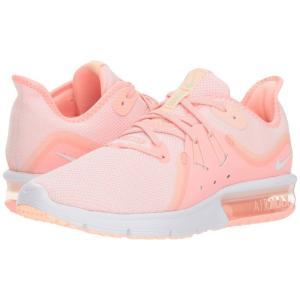 ナイキ Nike レディース スニーカー シューズ・靴 Air Max Sequent 3 Pink Tint/White/Crimson Tint/Vapor Green|fermart-shoes