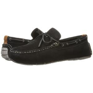 コールハーン メンズ ローファー シューズ・靴 Zerogrand Camp Moc Driver Black/White|fermart-shoes